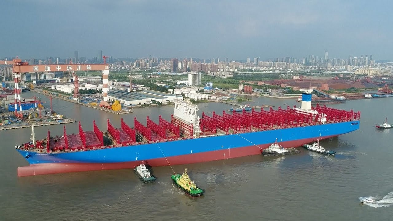 DCMS - Capt V's Vessel Delivery from Shanghai