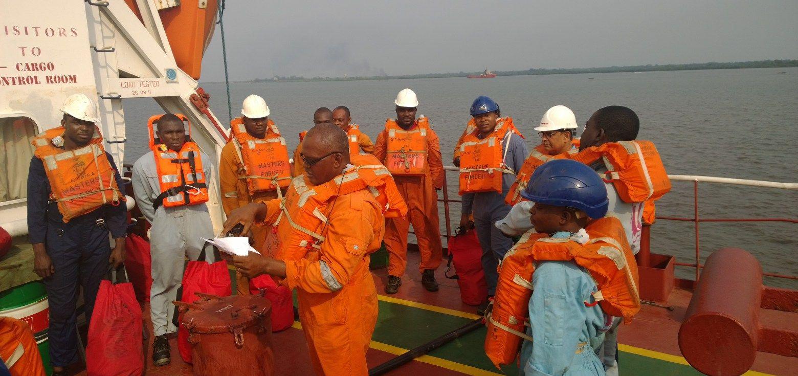 DCMS - Crew Navigating GIF
